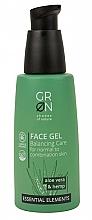 Perfumería y cosmética Gel de limpieza facial con aloe vera y cáñamo - GRN Essential Elements Aloe Vera & Hemp Face Gel