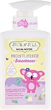 Perfumería y cosmética Loción hidratante natural para niños - Jack N' Jill Sweetness Moisturiser
