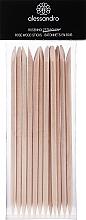 Perfumería y cosmética Palitos empujacutículas de madera de rosa - Alessandro International Rose Wood Sticks