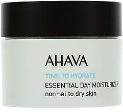 Perfumería y cosmética Hidratante de día con agua del Mar Muerto - Ahava Time To Hydrate Essential Day Moisturizer Normal to Dry Skin