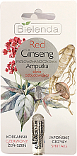 Perfumería y cosmética Ampolla facial antiarrugas con raíz de ginseng rojo - Bielenda Red Ginseng