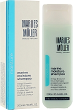 Perfumería y cosmética Champú hidratante con extracto de algas - Marlies Moller Marine Moisture Shampoo