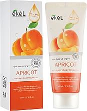 Perfumería y cosmética Gel exfoliante facial natural con albaricoque - Ekel Apricot Natural Clean Peeling Gel