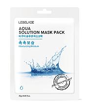 Perfumería y cosmética Mascarilla facial con extracto de granada - Lebelage Aqua Solution Mask