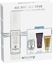 Perfumería y cosmética Set de cuidado facial antiedad - Sisley All Day All Year Discovery Program (crema/50ml+ desmaquillante/30ml+mascarilla/10ml+sérum/5ml)