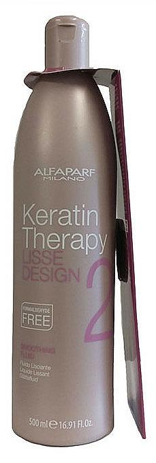 Fluido suavizante de queratina para cabello - Alfaparf Lisse Design Keratin Smoothing Fluid