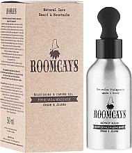 Perfumería y cosmética Aceite de argán y jojoba para bigote y barba - Roomcays