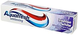 Perfumería y cosmética Pasta dental blanqueadora con fluoruro - Aquafresh Whitening Intense White Toothpaste