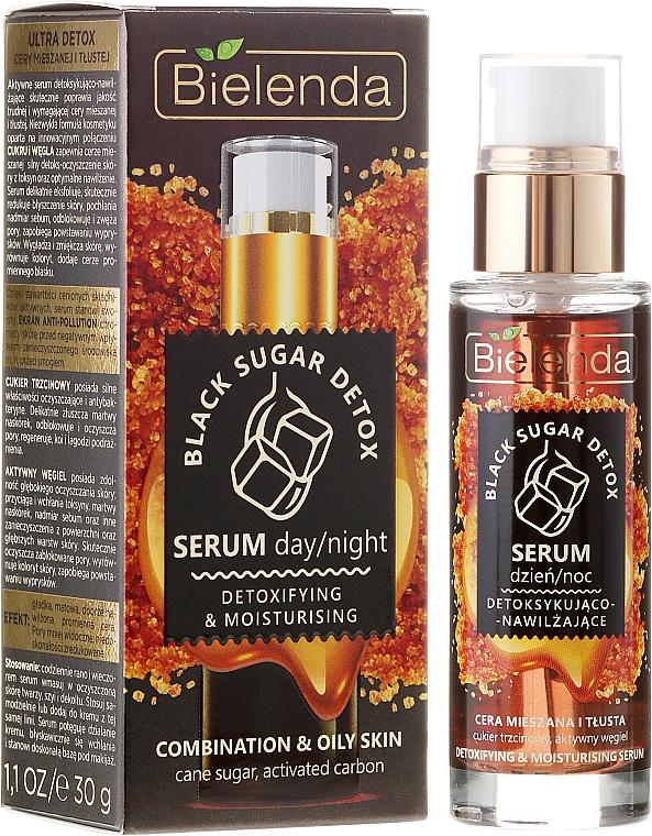 Sérum facial detoxificante con azúcar y carbón - Bielenda Black Sugar Detox Serum