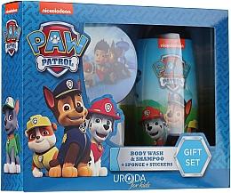 Perfumería y cosmética Set para niños - Uroda Paw Patrol Boy (champú./gel de ducha/250ml + esponja + pegatinas)