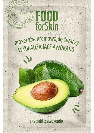 Mascarilla facial cremosa con extracto de aguacate - Marion Food for Skin Cream Mask Smoothing Avocado