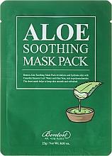 Perfumería y cosmética Mascarilla facial calmante con agua de aloe vera - Benton Aloe Soothing Mask Pack
