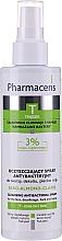 Perfumería y cosmética Spray antibacteriano para rostro, escote, espalda y manos con ácido mandélico y extracto de limón - Pharmaceris T Sebo-Almond-Claris