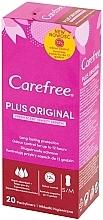 Perfumería y cosmética Salvaslips de algodón, aroma fresco, protección duradera, 20uds. - Carefree Plus Original Fresh Scent