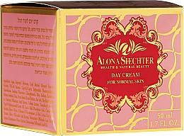 Perfumería y cosmética Crema de día con extractos de avena y salvia, pieles normales - Alona Shechter Day Cream For Normal Skin
