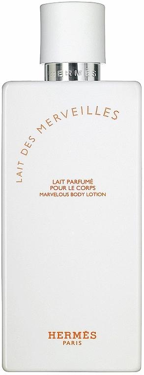 Hermes Eau des Merveilles - Leche corporal perfumada — imagen N2