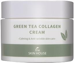 Perfumería y cosmética Crema facial antiarrugas con colágeno y extracto de té verde - The Skin House Green Tea Collagen Cream