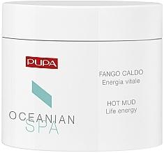Perfumería y cosmética Barro corporal con extracto de lava volcánica polinesia y aceite de coco, efecto calor - Pupa Hot Mud Life Energy