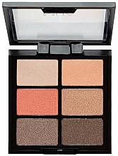 Perfumería y cosmética Paleta de sombras de ojos - MUA 6 Shade Palette