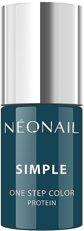 Esmalte gel de uñas, UV - NeoNail Simple One Step Color Protein
