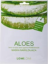 Perfumería y cosmética Mascarilla facial regeneradora con extracto de aloe vera, aceite de macadamia y coco - LomiLomi Mask Aloe