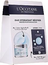 Perfumería y cosmética L'Occitane Aqua Reotier - Set facial hidratante (crema/50ml + mascarilla/6ml)