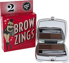 Perfumería y cosmética Kit para cejas (cera modeladora, polvo fijador, pinzas y aplicador extensible) - Benefit Brow Zings