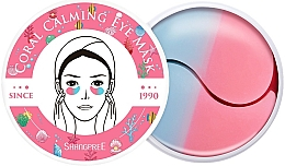 Perfumería y cosmética Parches para contorno de ojos de hidrogel con extracto de coral - Shangpree Coral Calming Eye Mask