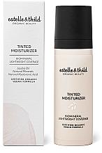 Perfumería y cosmética Crema de color hidratante de cobertura ligera con aceite de jojoba, vegana - Estelle & Thild Tinted Moisturizer