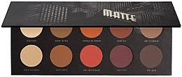 Perfumería y cosmética Paleta de sombras de ojos - Zoeva Matte Palette