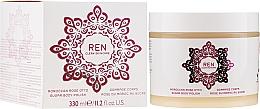 Perfumería y cosmética Exfoliante corporal vegano con aceites de rosa & cártamo - Ren Moroccan Rose Otto Sugar Body Polish