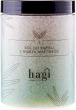 Perfumería y cosmética Sales de baño del Mar Muerto con aceite de lavanda - Hagi Bath Salt