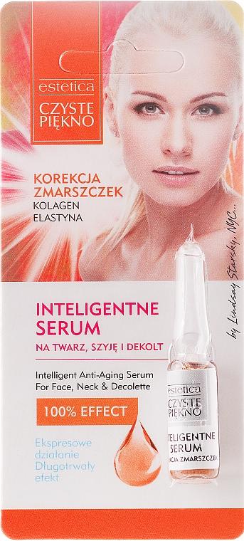 Sérum para rostro, cuello y escote con colágeno & elastina - Czyste Piekno Inteligentne Serum