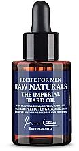 Perfumería y cosmética Aceite de barba calmante con almendra y manteca de karité - Recipe For Men RAW Naturals The Imperial Beard Oil