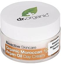 Perfumería y cosmética Crema de día para rostro y cuerpo con aceite de argán de Marruecos - Dr. Organic Bioactive Skincare Organic Moroccan Argan Oil Day Cream