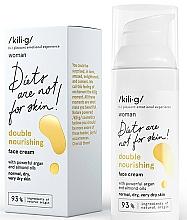 Perfumería y cosmética Crema facial con aceite de argán y almendra efecto doble nutritivo - Kili·g Woman Double Nourishing Cream