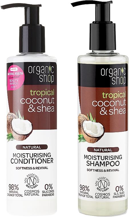 Set capilar - Organic Shop (champú/280ml + acondicionador/280ml)