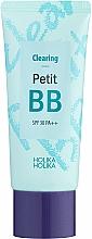 Perfumería y cosmética BB crema con extracto de aceite de árbol de té que reduce la inflamación y la irritación - Holika Holika Clearing Petit BB Cream