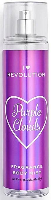 "Bruma corporal con notas de malvavisco ""Purple Clouds"" - I Heart Revolution Body Mist Purple Clouds"