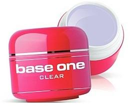 Perfumería y cosmética Gel constructor de uñas, transparente - Silcare Base One Clear