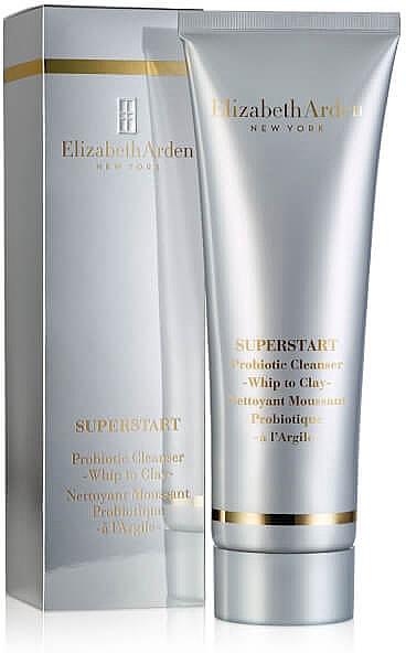 Crema facial desmaquillante en mousse con probióticos - Elizabeth Arden Superstart Probiotic Whip to Clay Cleanser — imagen N1