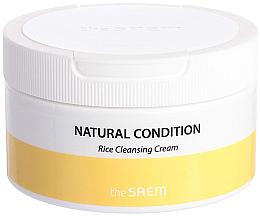 Perfumería y cosmética Crema de limpieza facial con extracto y aceite de arroz - The Saem Natural Condition Rice Cleansing Cream