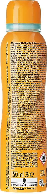 Desodorante antitranspirante con aroma a mango y vainilla - Fa Bali Kiss Deodorant — imagen N2