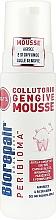 Perfumería y cosmética Mousse enjuague bucal para gengivitis con vitaminas A,C,E y ácido hialurónico - Biorepair Peribioma Gengive Mousse