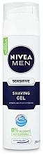 Perfumería y cosmética Gel de afeitar calmante sin alcohol - Nivea For Men Active Comfort System Shaving Gel