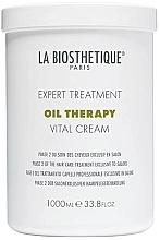 Perfumería y cosmética Crema para cabello revitalizante de uso profesional, fase 2 - La Biosthetique Oil Therapy Vital Cream