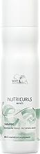 Perfumería y cosmética Champú nutritivo cabello rizado con aceite de jojoba - Wella Professionals Nutricurls Waves Shampoo
