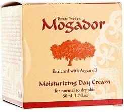 Perfumería y cosmética Crema hidratante de día con aceite de argán y extracto de centella asiática - Mogador Moisturizing Day Cream